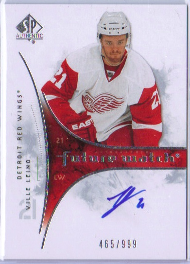 2009-10 SPA Future Watch - Ville Leino 465of999